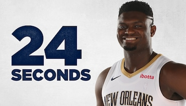 ibotta 24 Seconds: Zion Williamson