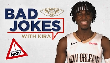 Bad jokes with Kira Lewis Jr.