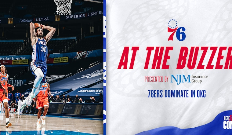 76ers Dominate in OKC