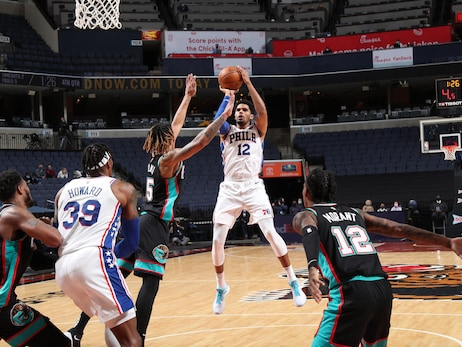 Photos | 76ers @ Grizzlies (01.16.21)