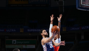 Photos | 76ers @ Thunder (04.10.21)